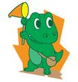Hunters Dinosaur vector image vector image