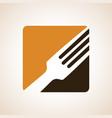 logo or for a restaurant cafe or diner vector image