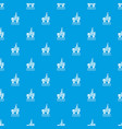 oil platform pattern seamless blue vector image