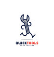 quick tools vector image vector image