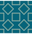 A symmetrical square pattern vector image