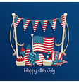 fourth of july decoration vector image