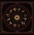 a bundle zodiac signs vector image vector image