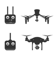 drone silhouette video aerial fly helicopter