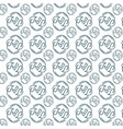 eco natural siple seamless pattern vector image vector image
