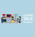 kitchen equipment electronics sale vector image