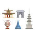 korea korean culture traditional symbols vector image