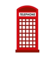 london telephone cab isolated icon design vector image vector image