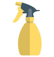 spray bottle icon isolated on white vector image