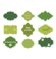 st patricks day labels vector image