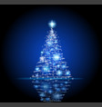 abstract christmas backgrpund vector image vector image