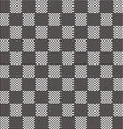 black and white seamless fabric texture pattern vector image vector image