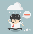 business people negative thinking vector image vector image