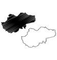 jambi map vector image vector image