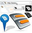 Original e-plug design element vector image