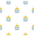 Orthodox church pattern flat vector image
