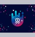 reward medal simple icon winner achievement vector image vector image