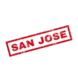 San Jose Rubber Stamp vector image vector image