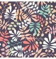 Seamless botanical pattern vector image vector image
