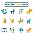 Zodiac Icon Flat vector image