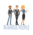 Business People Set 3 vector image vector image