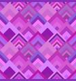 purple geometrical diagonal square mosaic tile vector image vector image