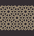 seamless pattern in authentic arabian style color