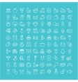 Set Line Icons Food vector image vector image