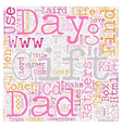 Stuck for Fathers Day gifts Find me a gift has the vector image vector image