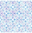 Seamless pattern with filigree ornament vector image