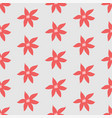 cute seamless pattern with poinsettias vector image vector image