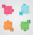 Infographic instruction vector image