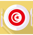 kitchen of Tunisia vector image vector image