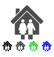 property flat icon vector image