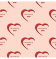 Seamless valentine day background vector image vector image
