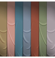 Background of silk ribbons vector image vector image