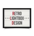 creative of glowing cinema vector image vector image
