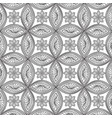 floral seamless pattern linear orient ornament vector image vector image