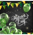 handwritten Saint Patricks Day label vector image vector image