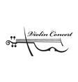 image of violin vector image vector image