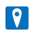 map pointer gps location symbol location icon vector image
