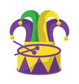 mardi gras carnival icon image vector image