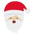 Santa cartoon of Merry Christmas design vector image vector image