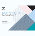 template geometric pattern trendy abstract vector image vector image