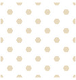 abstract gold hexagon white pattern image vector image