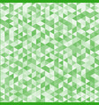 abstract striped geometric triangle pattern green vector image vector image