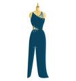 Blue dress in making