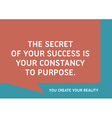 Motivational Quote That Inspire Your Success vector image