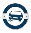 tires car emblem icon vector image vector image