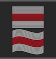 white-red-white flag belarus set of vector image vector image
